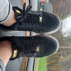 NEGOTIABLE Gold Star Air Force Ones